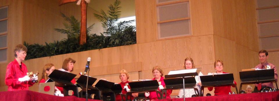 bell choir, epiphany ring at St. Andrews