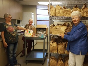 Food Bank Rosalie-Gerry-Alice